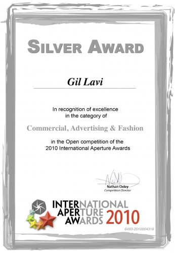 International Aperture Awards Silver Award