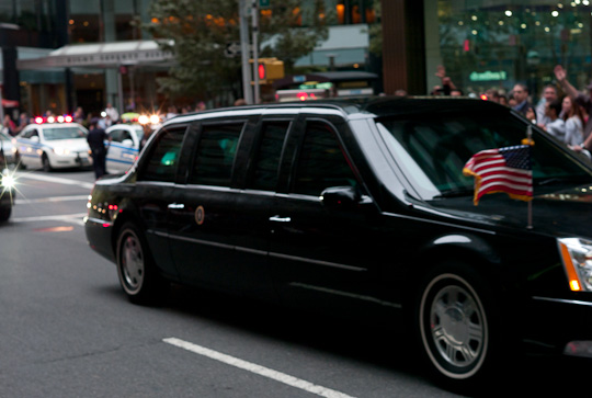 Presidential Limousine.