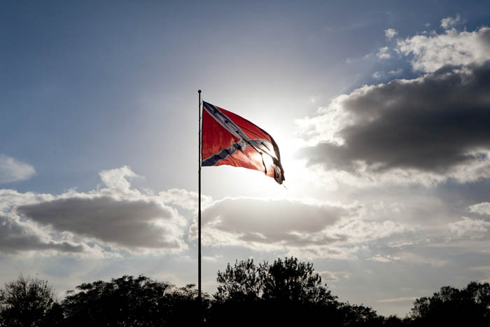 The Confederate flag Photography Gil Lavi