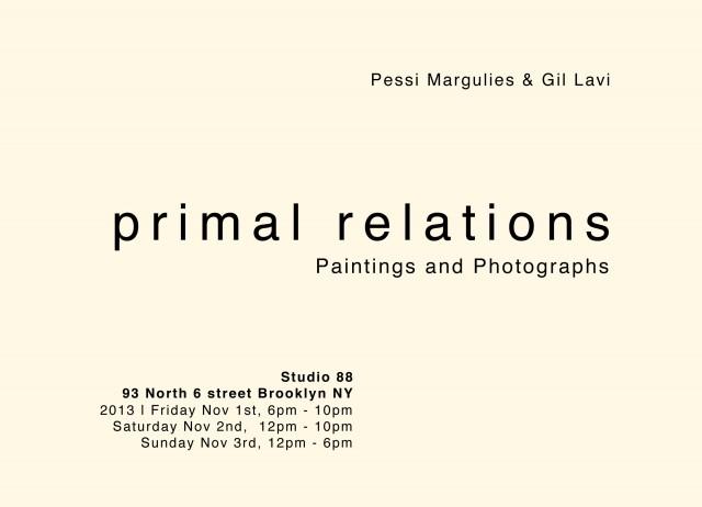 Primal Relations Invite N